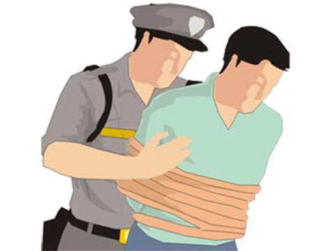 Hasil gambar untuk animasi polisi tangkap maling