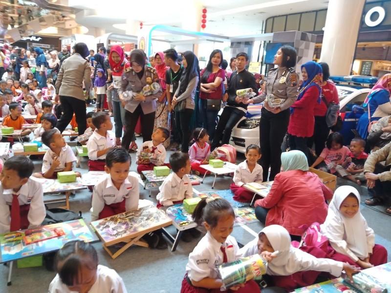 Lomba Mewarnai Tingkat Sd Banyumas Police Expo 2018 Ajak Anak Anak