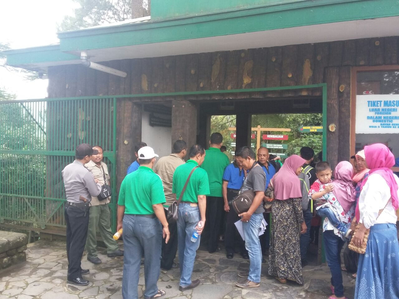 Polsek Tawangmangu Intensifkan Patroli Di Sejumlah Objek