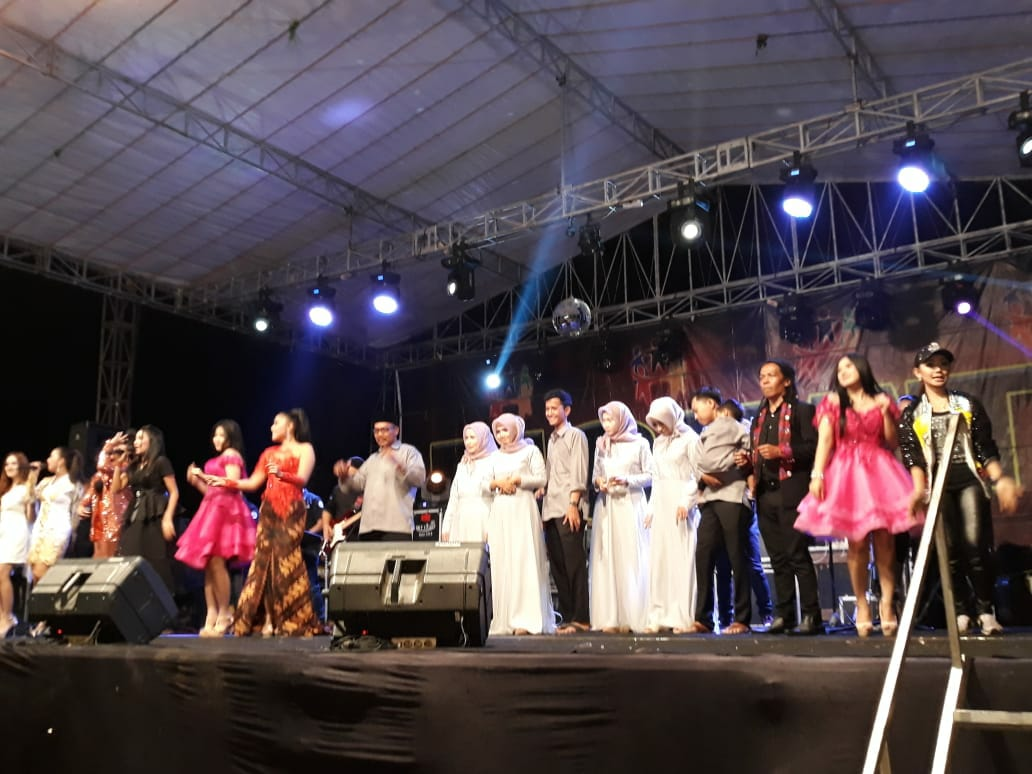 Orkes Melayu Monata Goyang Ribuan Penggemar Dangdut