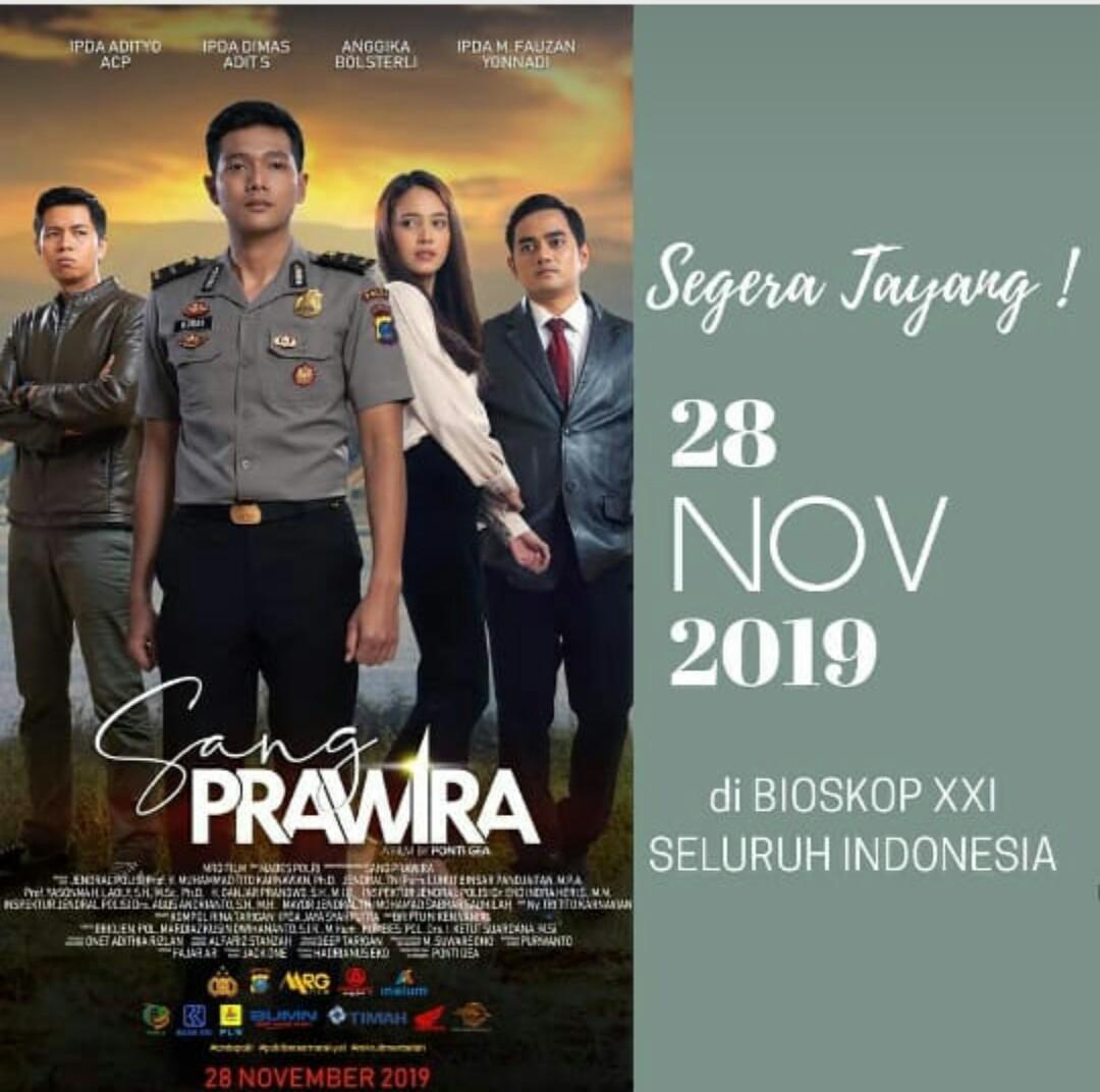 movie 2019 november Kabidhumas Polda Jateng Film SANG PRAWIRA Tayang Di
